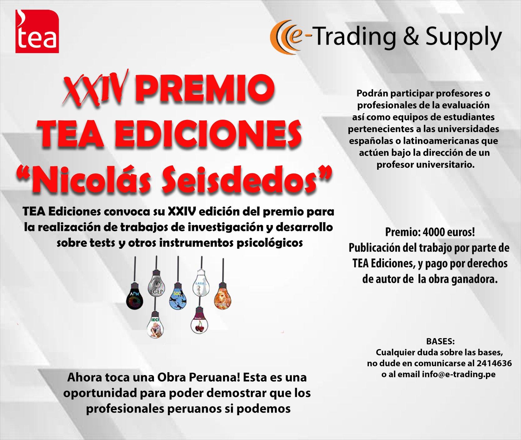 PREMIO TEA EDICIONES